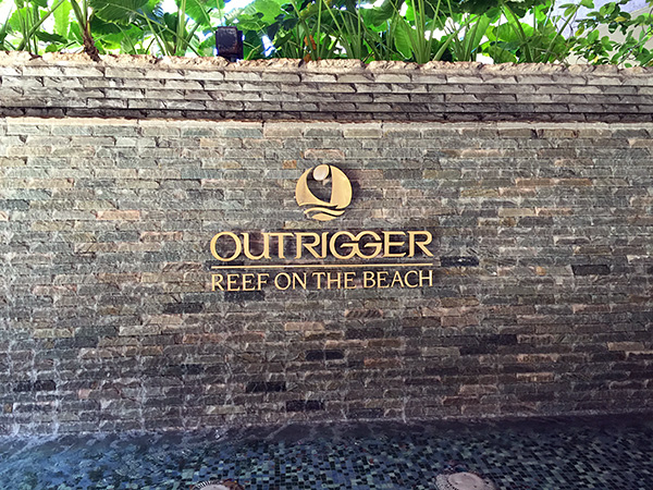OUTRIGGER REEF