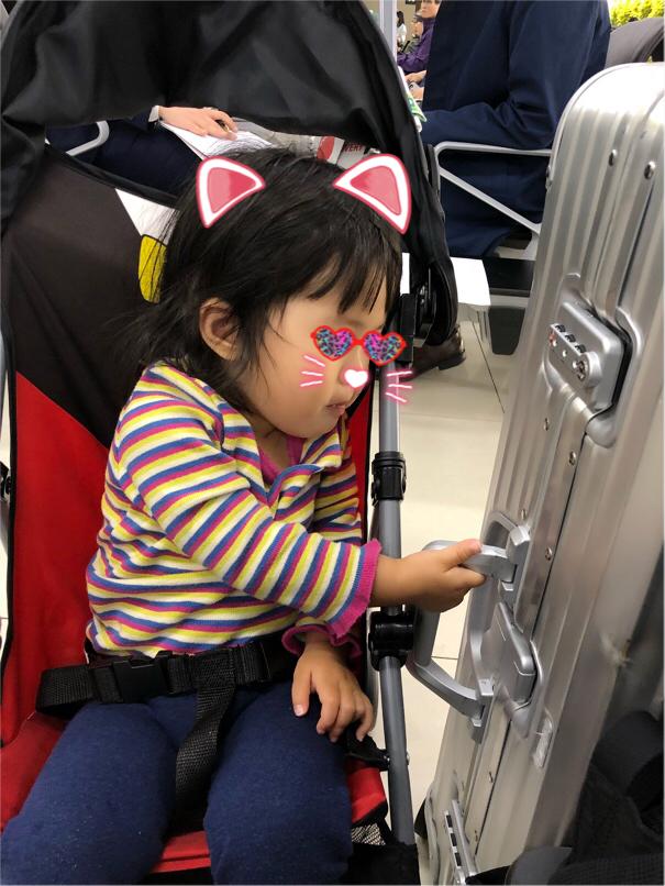 1歳児と韓国
